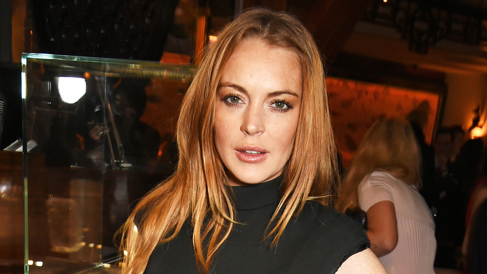 Lindsay Lohan Is Out There on the Shores of Thailand in a Burkini