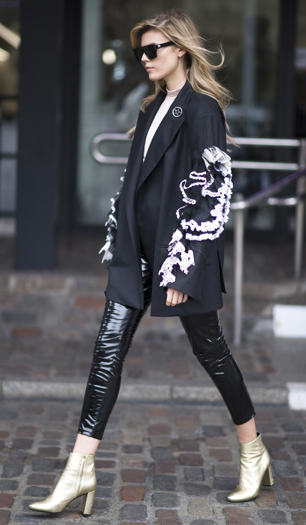 Maryna Lynchuk London Fashion Week February 2017