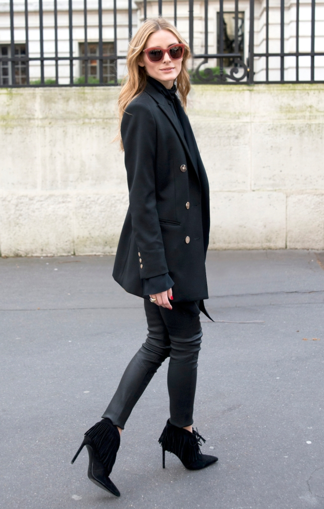 Olivia Palermo Paris Fashion Week Autumn Winter 2016-17