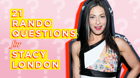 Stacy London Talks Cashews, Wall-Squats, and Her Favorite Lipstick | StyleCaster