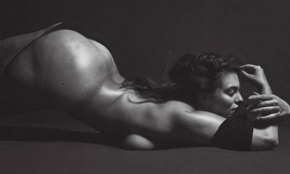 Ashley Graham Poses Nude for V Magazine, Calls Cellulite a 'Non-Issue'