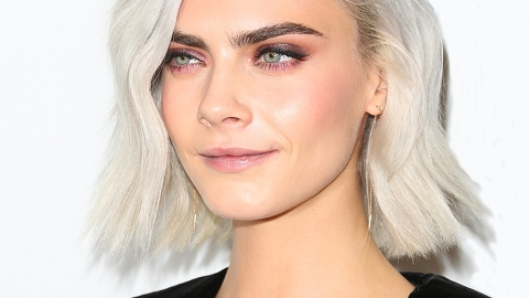 Uhh, Cara Delevingne Got a Giant Tattoo on Her Scalp | StyleCaster