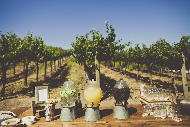drink station at wedding 30 Creative Outdoor Entertaining Ideas for the Ultimate Soirée