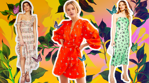 41 Floral Dresses to Shop, Because It's Spring, Damnit | StyleCaster