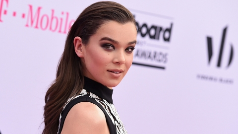 The Weird Product That Made Hailee Steinfeld's Hair So Sleek and Shiny | StyleCaster