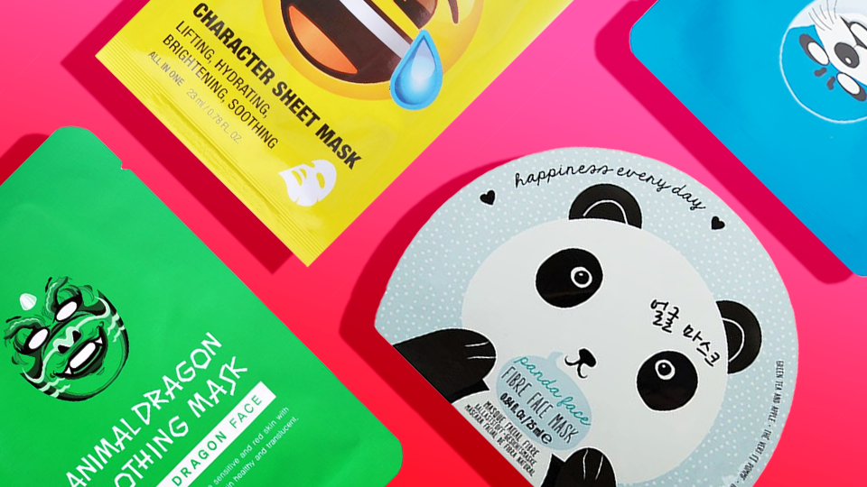 6 Weirdly Awesome Korean Sheet Masks You Need to Instagram Right Now
