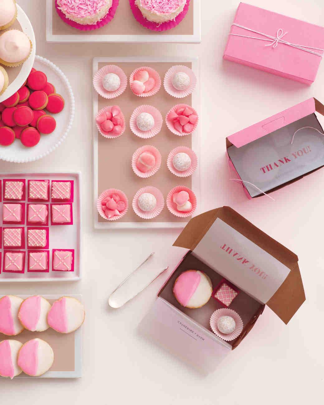 pink wedding favors martha stewart 50 Genius Wedding Ideas to Help You Throw the Most Unique Wedding Ever