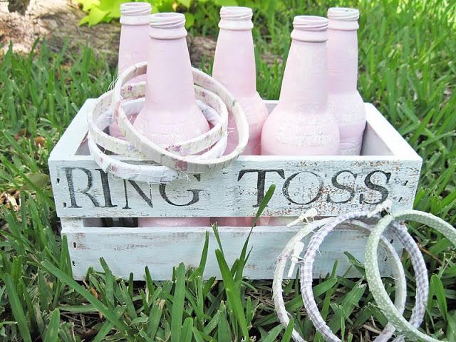 ring toss outdoor party idea 30 Creative Outdoor Entertaining Ideas for the Ultimate Soirée
