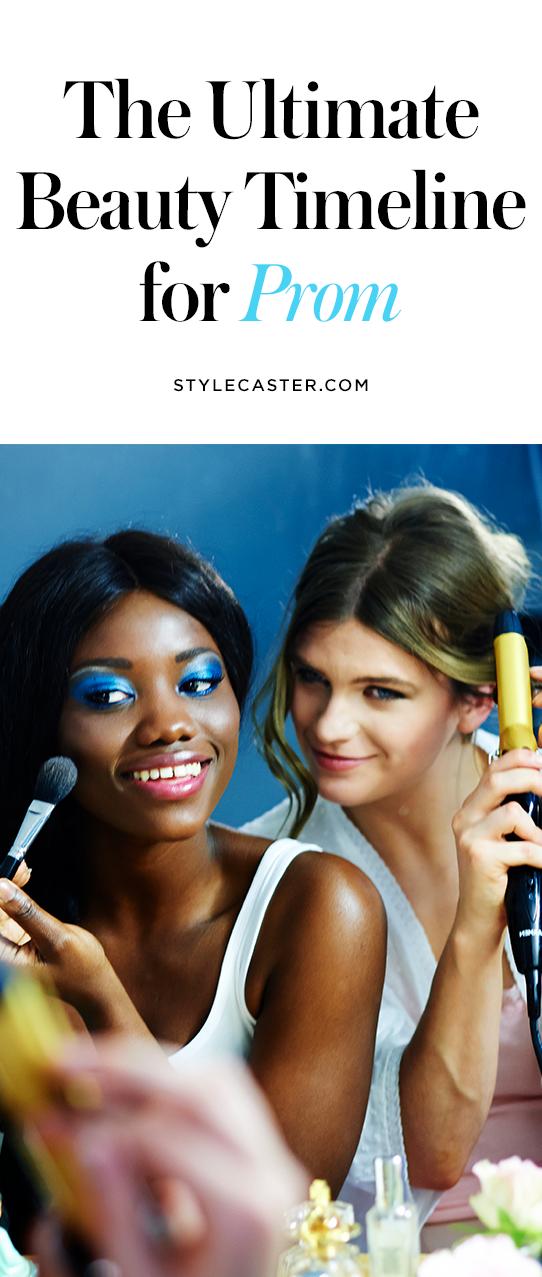 STYLECASTER   Prom Beauty Timeline