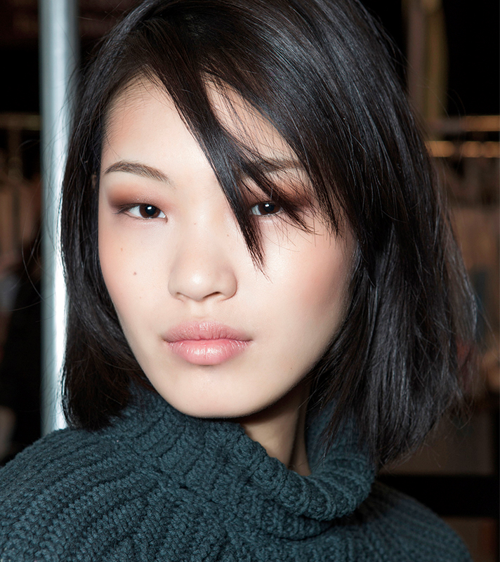 straight bangs inspo The Easiest Way to Cut Your Own Bangs at Home Like a Pro