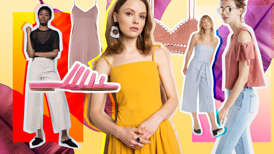 11 Best Summer 2017 Fashion Trends to Shop Right This Moment