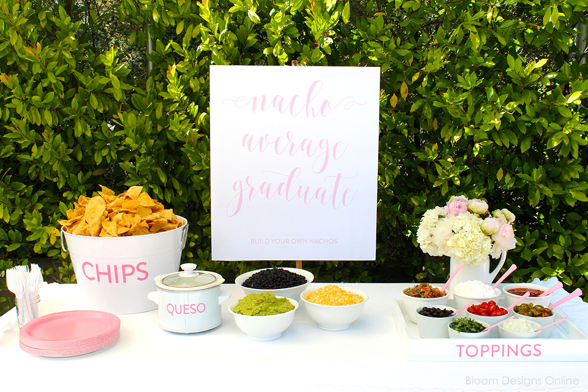 taco graduation party 20 Stylish, Modern and Easy Graduation Party Ideas