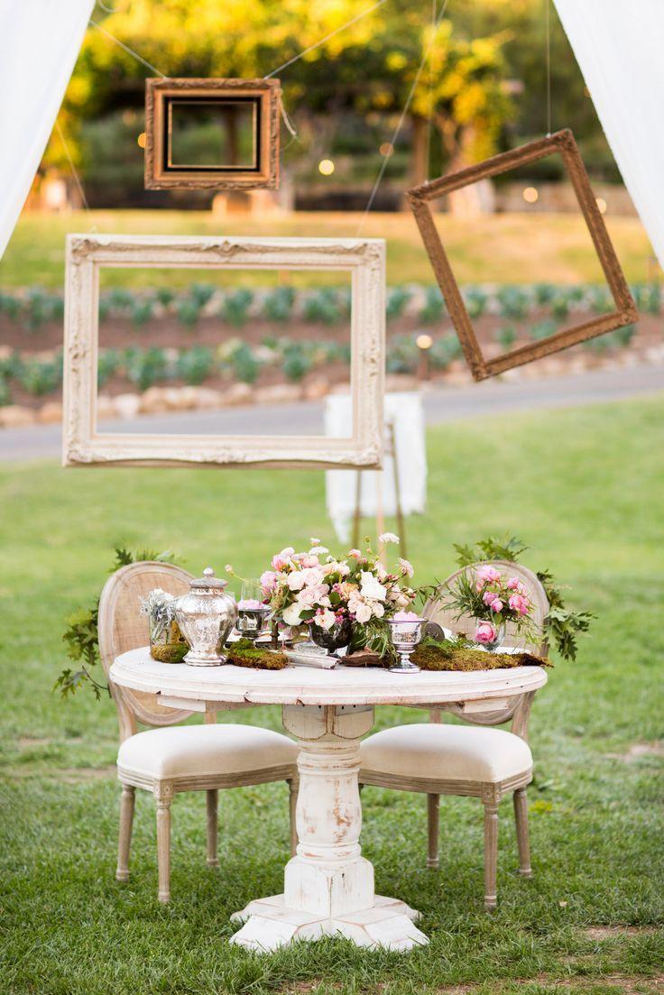 whimsical frames diy photo booth 30 Creative Outdoor Entertaining Ideas for the Ultimate Soirée
