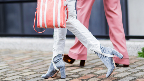The Street Style Guide to White Jeans   StyleCaster