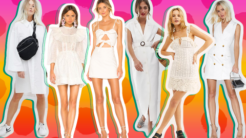 33 Little White Dresses to Shop, Because, Well, Spring | StyleCaster