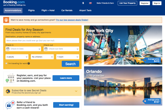 booking screenshot 27 Brilliant Travel Tips—From Booking and Packing to Vacationing