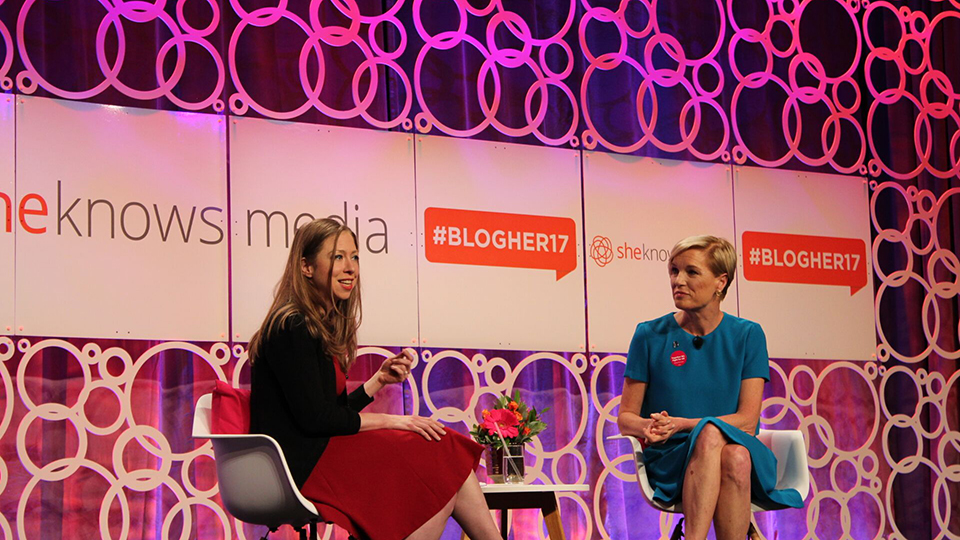 chelsea clinton cecile richards blog her 7 Takeaways from Chelsea Clinton, Gabi Gregg, and Others at #BlogHer17