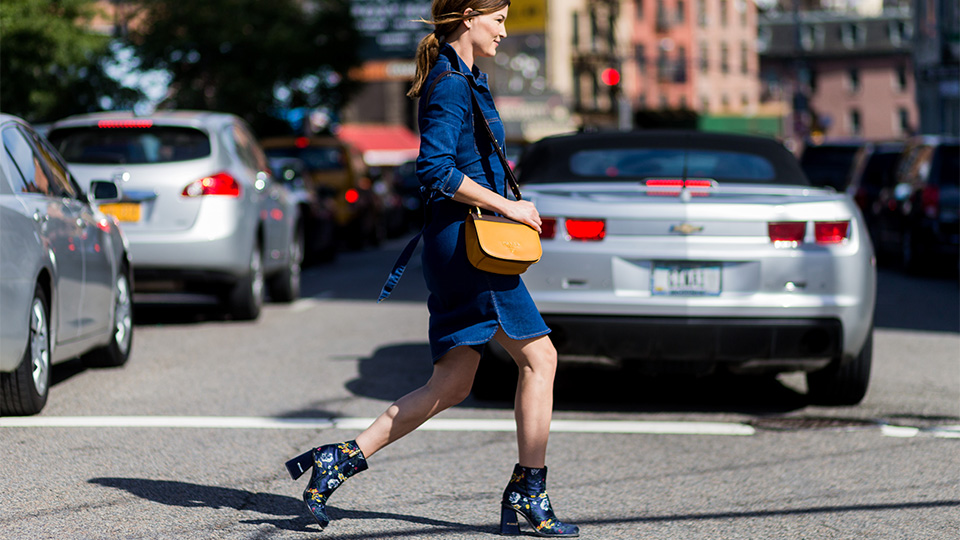 Denim Dresses are On-Trend Again and We Are *Here* For It