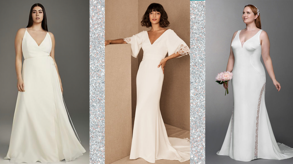 19 Simple, Elegant Wedding Dresses For The Non-Traditional Bride   StyleCaster