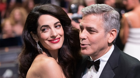 George and Amal Clooney Finally Welcome Twins! | StyleCaster