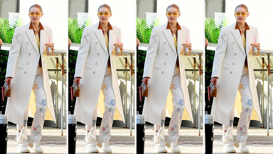 I Can't Believe Gigi Hadid's Reformation Jeans Are Still In Stock