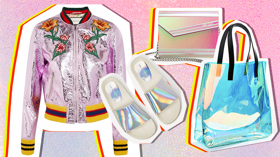 15 Holographic Clothes and Accessories to Shop Now