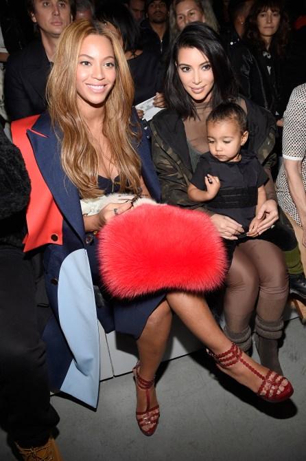 kim kardashian beyonce 2015 Beyonce *Reportedly* Gave Away the Presents Kim Kardashian Gifted Her Twins