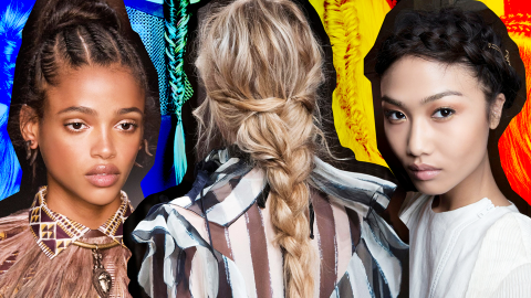 5 Super-Easy Braids You Can Do on Long Hair | StyleCaster