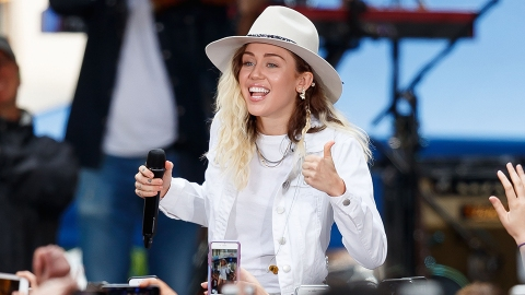 Miley Cyrus Stopped Smoking Weed for This Scary Reason | StyleCaster