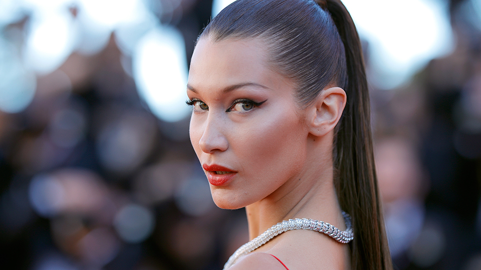 Bella Hadid's Outfit Is Very Mailman-Meets-Safari-Chic