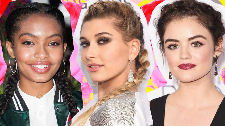 30 of the All-Time Prettiest Celebrity French Braids