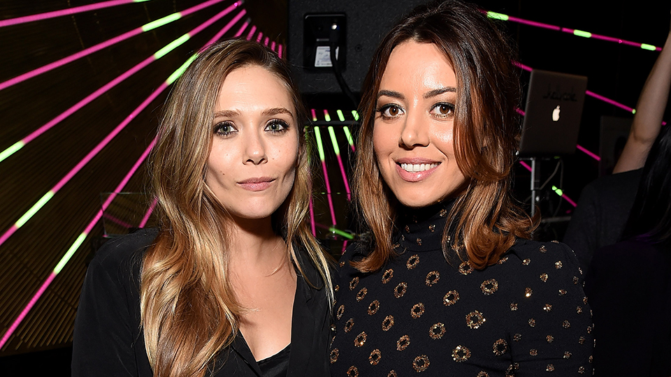 Elizabeth Olsen and Aubrey Plaza Showed Up to a Premiere in the Exact Same Dress