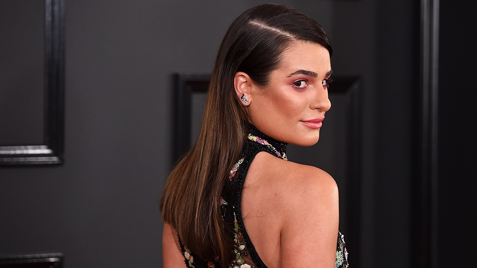 Lea Michele Just Got Drool-Worthy Blonde Highlights