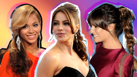 15 Celebrity-Inspired Ways to Wear a Ponytail with Bangs | StyleCaster