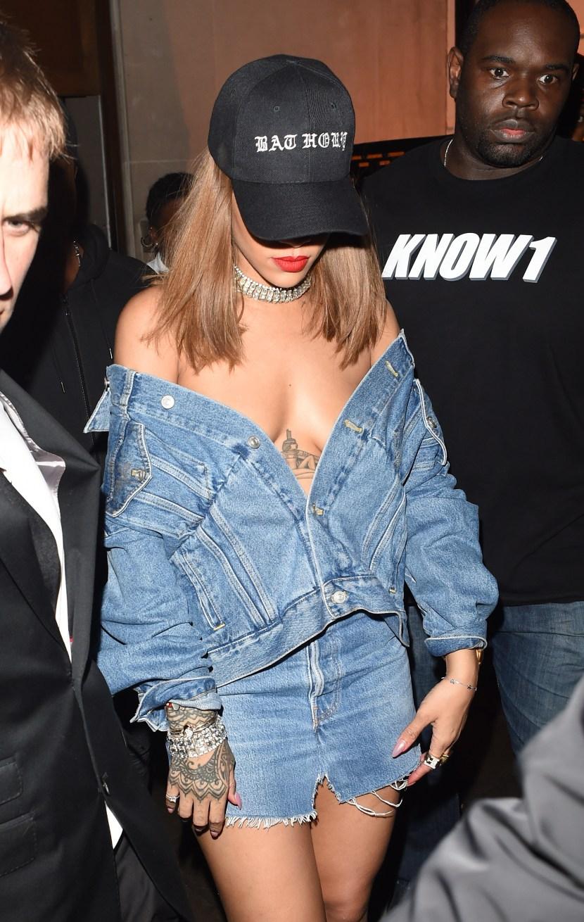 Rihanna Nude Outfits   StyleCaster