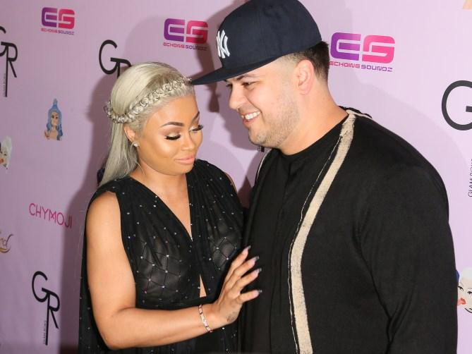 rob kardashian blac chyna 2016 3 Why Rumors that Rob Kardashian and Blac Chyna Faked Their Drama Need to End