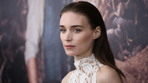 Rooney Mara Just Got the Coolest Messy Faux Hawk | StyleCaster