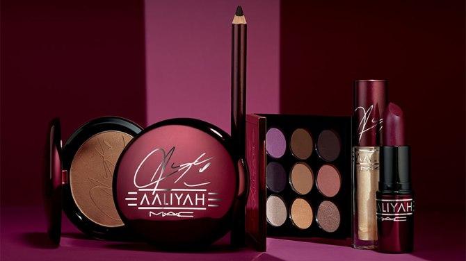 Aaliyah x MAC Collection