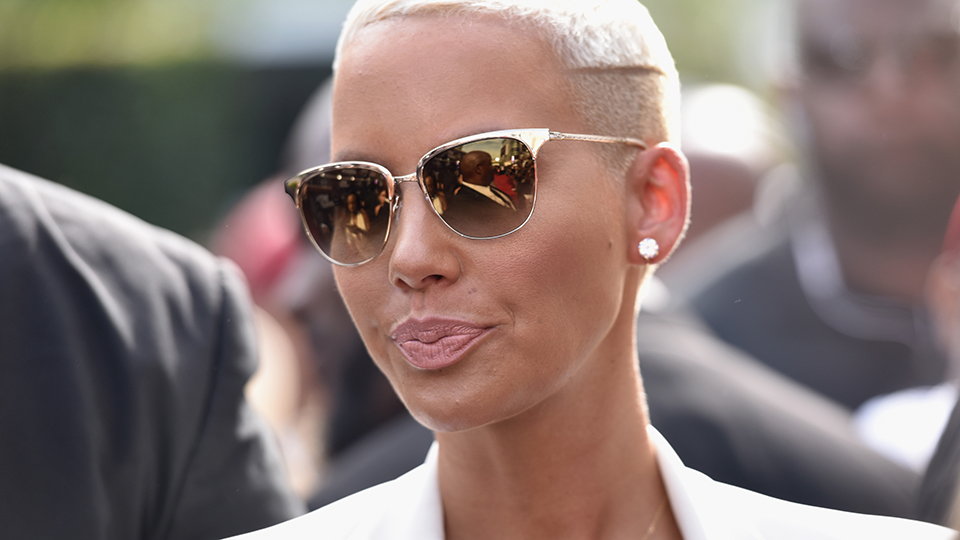 Why Amber Rose Is Considering Breast Reduction Surgery