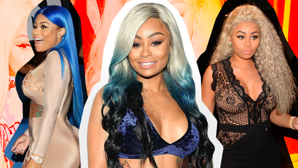 A Comprehensive Guide to Every Colorful Wig Blac Chyna Has Worn