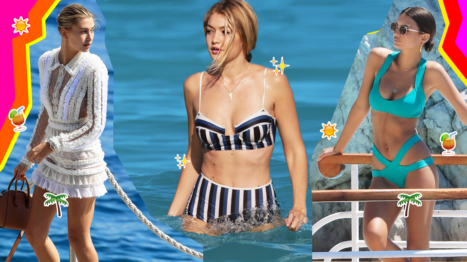 Celebrity Summer Vacations