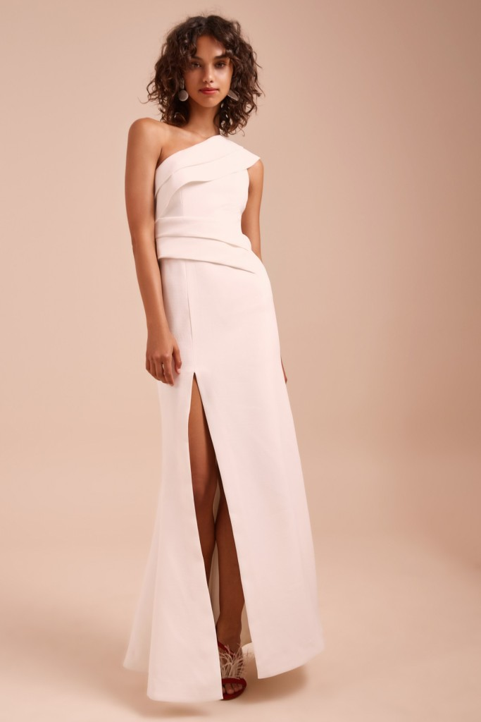 fashion bunker white dress The 13 Best Places to Buy Wedding Dresses on the Cheap