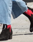 Idea: Rock a Canadian Tuxedo the Modern Way