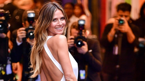 Heidi Klum's Cabin OOTD Is the Most Autumnal Thing We've Ever Seen | StyleCaster