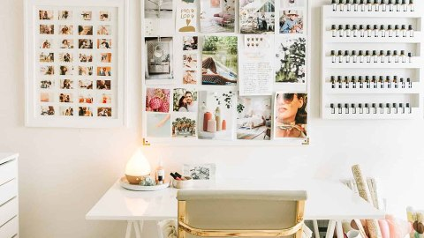 39 Ways to Turn Your Boring Home Office into a Super-Chic Space | StyleCaster