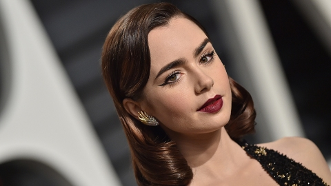 Bow Down to the Newly Blonde Lily Collins   StyleCaster