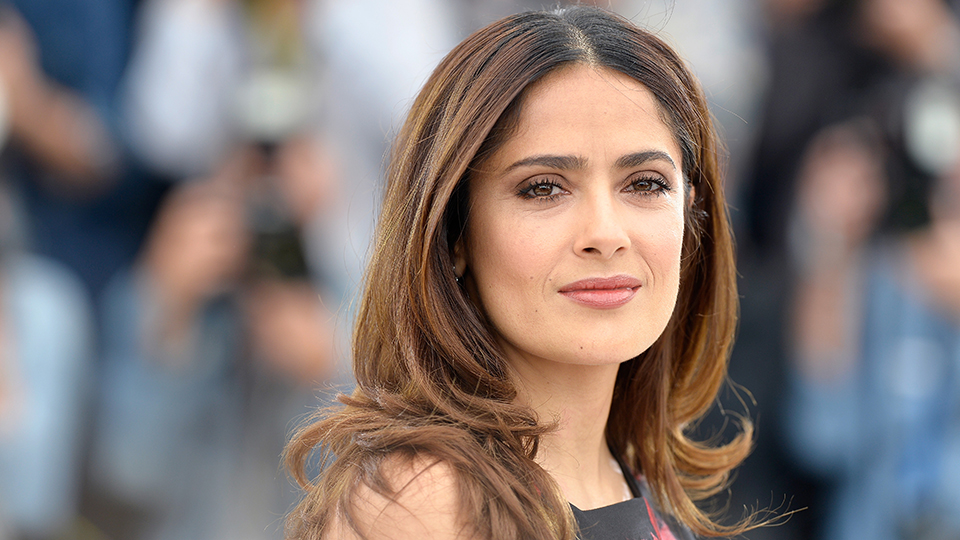 Why Salma Hayek Never Washes Her Face In the Morning