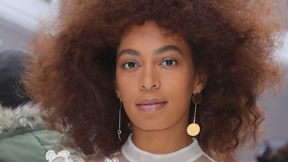 Solange Just Instagrammed a Photo of Her Face Covered in Hives
