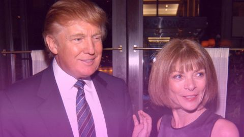 A Brief History of Anna Wintour's Friendship With Trump | StyleCaster