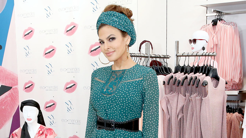 Eva Mendes Shares Her Easy Secret to a Great Hair Day